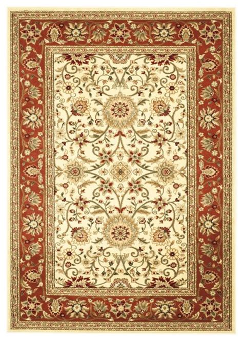 Maroon Area Rugs by Lyndhurst Brown Maroon Area Rug Lnh212r Traditional
