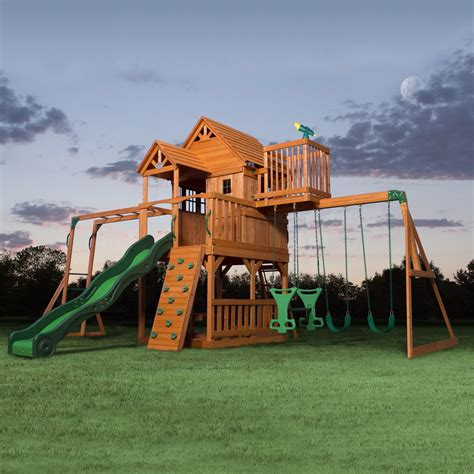 outdoor appealing swing sets lowes  kids playground