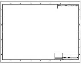 visio title block template creating a title block in autocad 2016 tutorial and