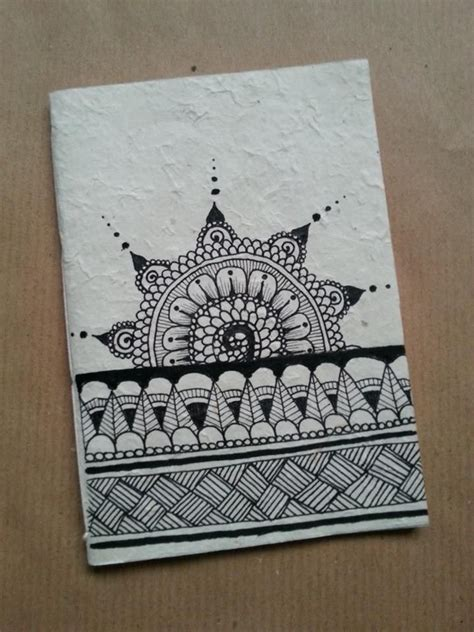 notebook doodle pattern mandhi inspiration on behance drawings pinterest