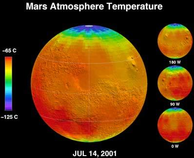 spaceflight now | breaking news | watch global warming