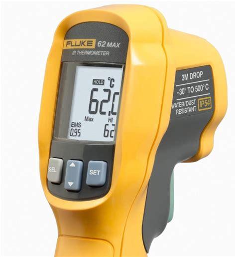Promo Termometer Infrared Fluke 62 Max 17022 fluke 62 max 62 max infrared thermometer