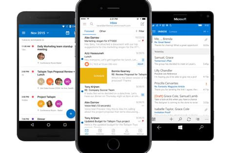 outlook android app microsoft outlook for ios android gets 3 useful calendar features cio