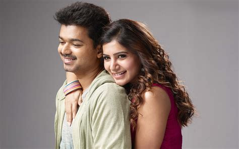 theri latest hd images wallpapers pictures vijay samantha amy vijay samantha wallpapers hd wallpapers id 17230