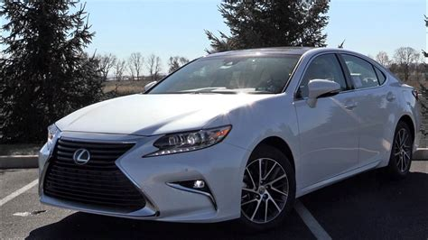 lexus es 2017 lexus es 350 review