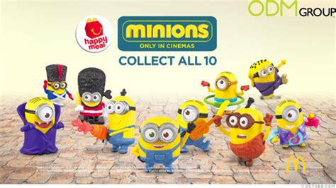 Mcdonalds Giveaway - mcdonald s happy meal minion giveaway theodmgroup blog