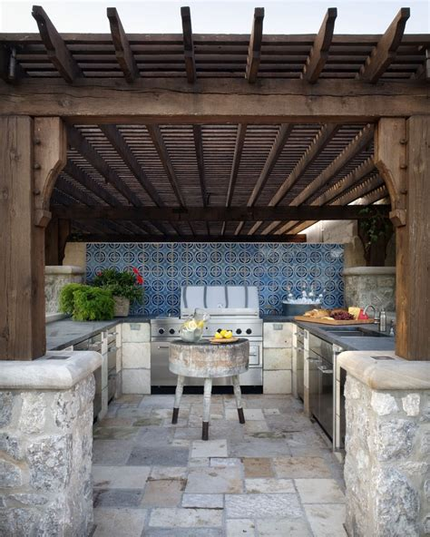 exterior kitchen 95 cool outdoor kitchen designs digsdigs