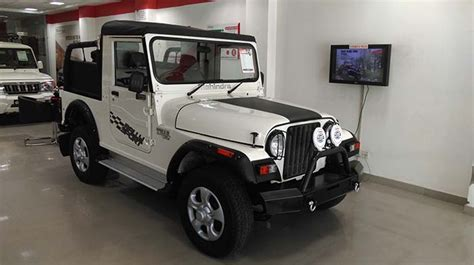 thar jeep white modified white thar vargis khan 1 vargis khan