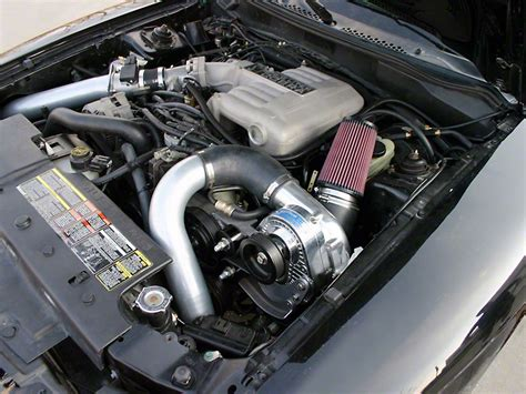 95 mustang turbo kit procharger mustang stage ii intercooled supercharger