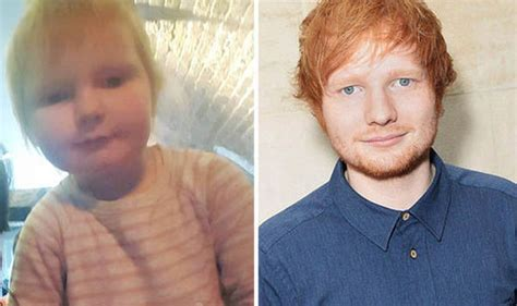 ed sheeran mini biography ed sheeran has a two year old doppelganger celebrity