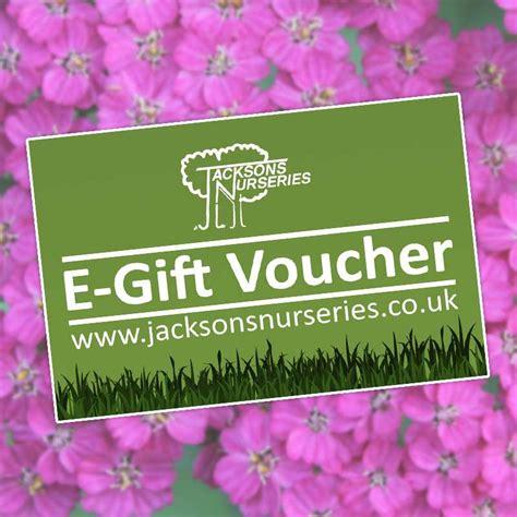 buy jacksons nurseries  gift voucher   uk
