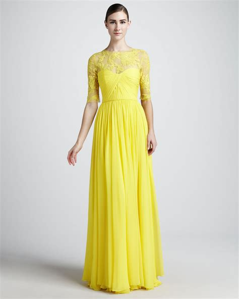 free shipping designer lace floral neck pleated half