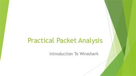 wireshark tutorial slideshare practical packet analysis wireshark