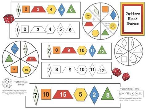 letter pattern in math 5 free pattern block games pattern block activities