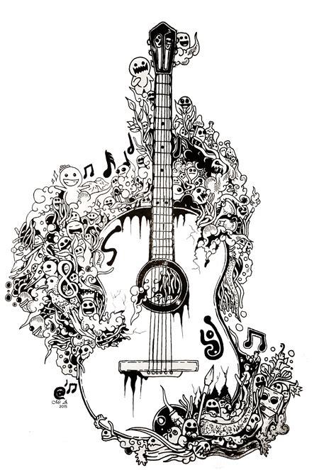 doodle guitar guitar doodle by ariefbionicgs on deviantart