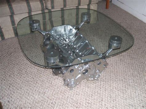 Engine Block Coffee Table Pin By Andy Henderson On Recycling Crafts
