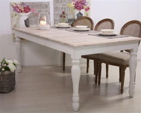 tavoli provenzali vendita on line tavolo legno bianco shabby chic mobili provenzali on line