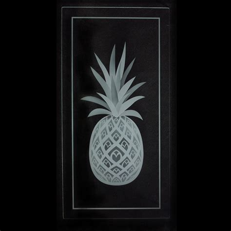 etched glass cabinet doors pineapple etched glass kitchen cabinet doors on behance