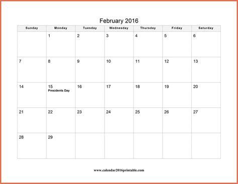 February 2016 Calendar With Holidays February 2016 Calendar With Holidays Bio Exle