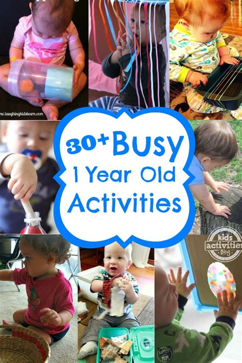 Ideas For 1 Year - 30 busy 1 year activities