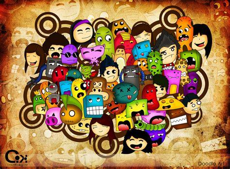 doodle warna mengenal doodle