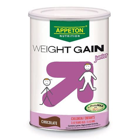 Appeton Weight Gain Kardus by Appeton Weight Gain Junior Choc 450gm Healthy U