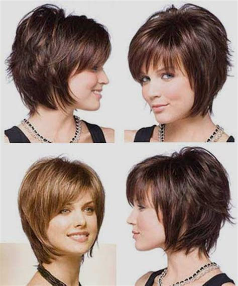 stacked bob haircut with bangs 20 best stacked layered bob bob hairstyles 2017 short