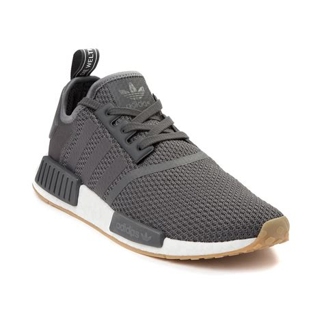 mens adidas nmd r1 athletic shoe grey 436656