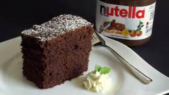 schnelle und leckere kuchen nutella kuchen