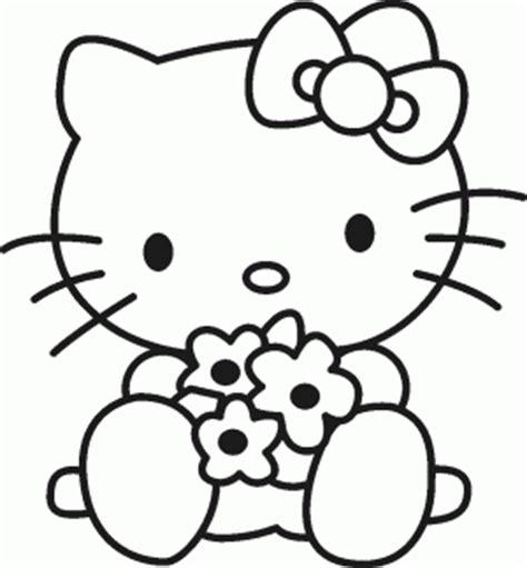 imagenes para dibujar kitty kitty para colorear