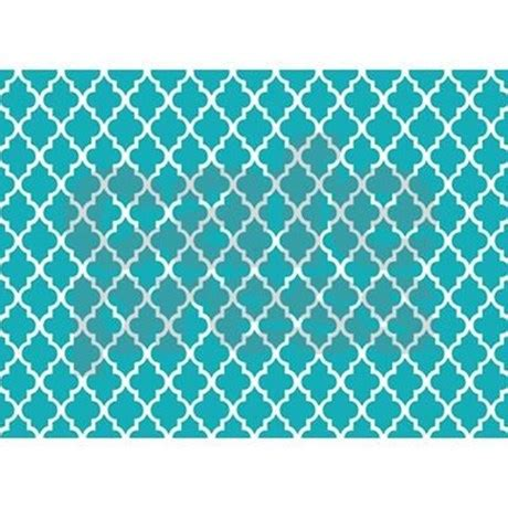 Teal Colored Area Rugs Peacock Teal Quatrefoil 5 X7 Area Rug By Mcornwallshop