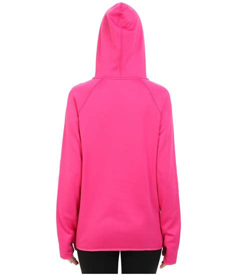Hoodiesweater Nike E nike all time pullover hoodie in pink lyst