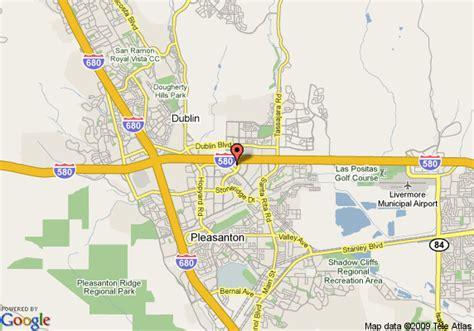 pleasanton california map map of hyatt place dublin pleasanton pleasanton
