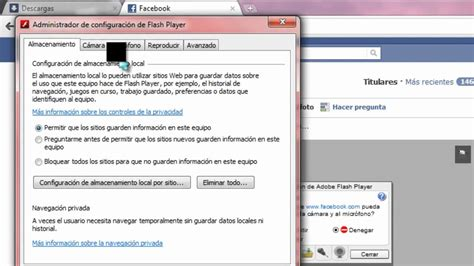mi chat con camara como activar la webcam el el facebook youtube