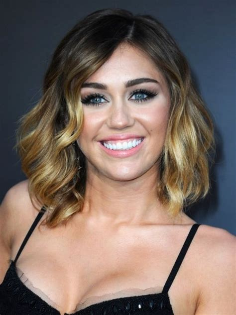 Haircut Games Miley Cyrus | miley s shoulder length hair hair inspiration