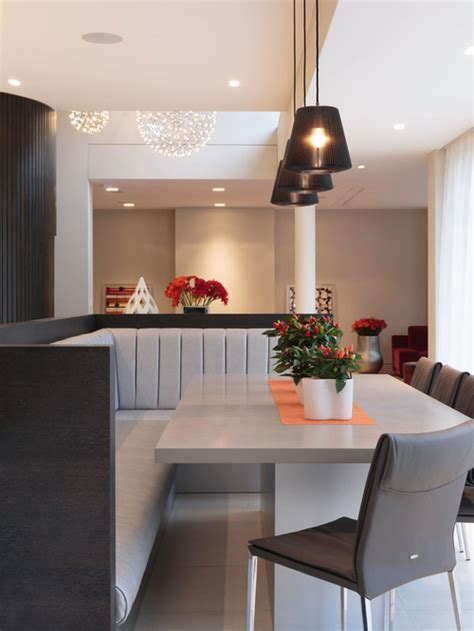banquette seating dining room houzz
