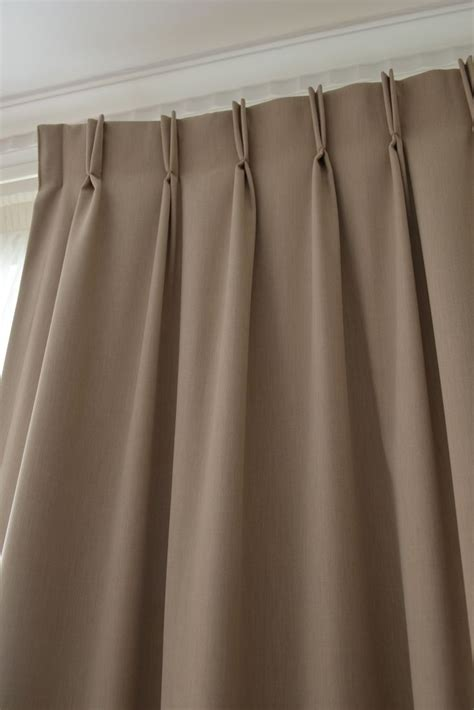 pleated curtains and drapes double pinch pleat curtains curtains pinterest
