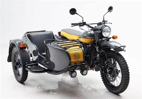 ural scrambler le side car tres tendance moto station