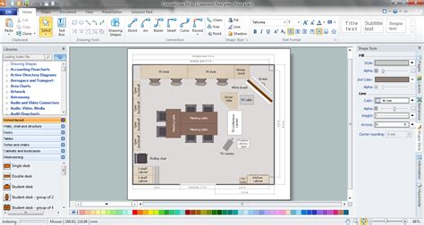 building floor plan software banquet floor plan software house plans professional building drawing classroom in