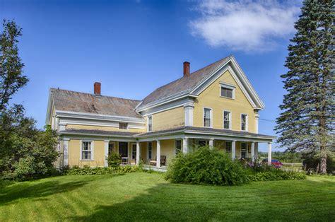 revival farmhouse historic 1850 revival farm on 29 picturesque acres circa houses houses for