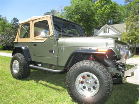 1988 jeep wrangler yj custom zz4 350 400hp show quality
