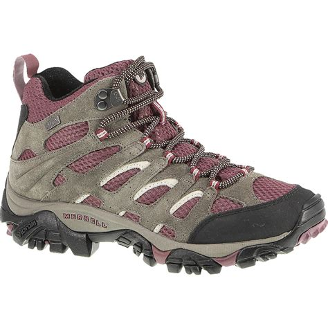 merrell moab boots merrell moab mid waterproof hiking boot s ebay