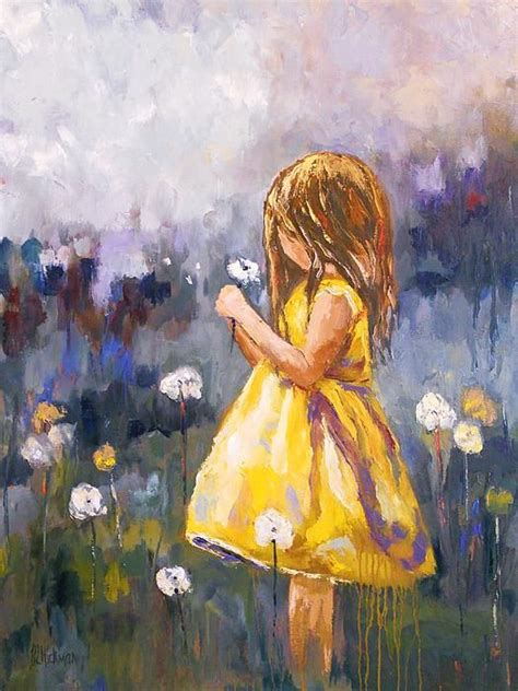 dandelion  brandi hickman dandelion painting painting
