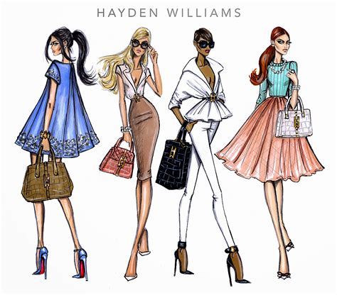 fashion illustration competition 2014 hayden williams fashion illustrations hayden williams 2014