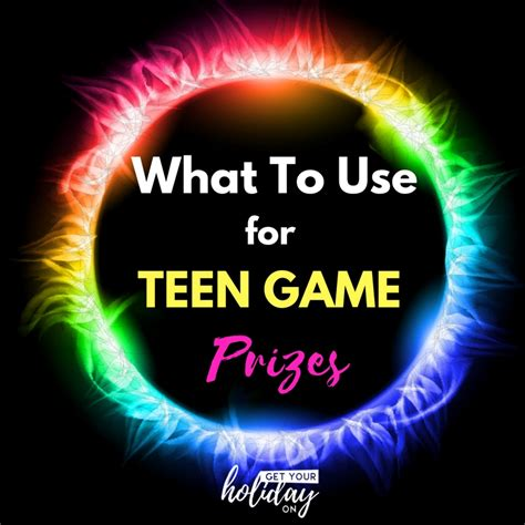 Teen Giveaways - teen game prizes get your holiday on