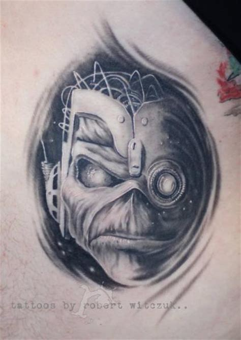 iron maiden tattoo designs realistic iron maiden by robert witczuk