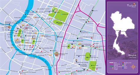 bangkok map map of bangkok