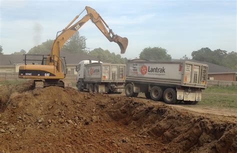 Plumbing Barking Road by Shows Heavy Excavation At Paperbark Place In