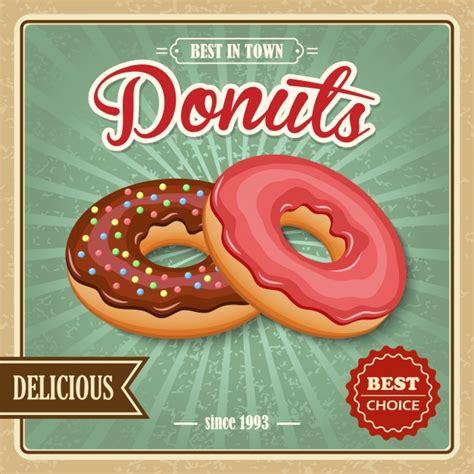Premium Donut delicious donuts vector premium