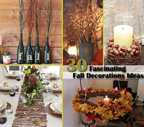 home fall decor 28 diy fall inspired property decorations with leaves